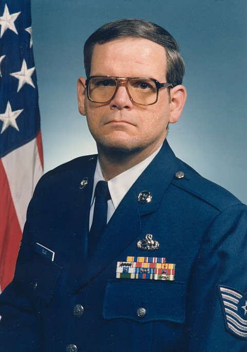 I'm not smiling now am I?  It's because I was stationed at George AFB in California - 1989